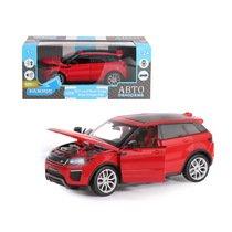 "Модель машины ""Автопанорама"" 1:24 Land Rover Range Rover Evoque, красный (свет, звук)"