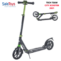Двухколёсный самокат Tech Team City Scooter 2021 Чёрный