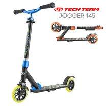 Двухколёсный самокат Tech Team TT Jogger 145 2020 Черно-синий