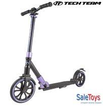 Самокат Tech Team TT Sport Pro 250 мм 2019 Чёрно-фиолетовый