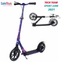 Городской самокат Tech Team Sport 230R 2021 Фиолетовый