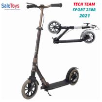 Городской самокат Tech Team Sport 230R 2021 Коричневый
