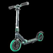 Двухколёсный самокат Tech Team TT Jogger 210 2020 Чёрно-зеленый