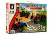 Магнитный конструктор MAGNETIC BLOCKS 3D 20 деталей
