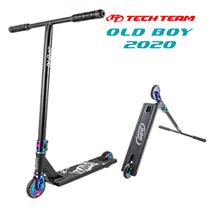 Трюковой самокат Tech Team Old Boy 2020 Rainbow