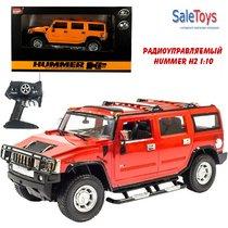 Радиоуправляемая машина MZ Hummer H2 1:10 со светодиодными фарами Красный