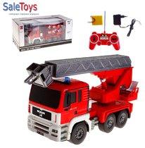 Радиоуправляемая пожарная машина Double Eagle MAN масштаб 1:20 2.4GHz