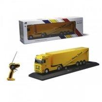 Радиоуправляемый грузовик с прицепом Mercedes-Benz Actros 1:32 yellow