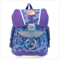 Ранец для первоклассника с ортопедической спинкой CM (purple)