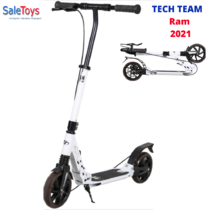 Самокат Tech Team Ram 2021 Бело-серый