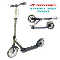 Городской самокат Tech Team Sport 250R 2020 Зелёный
