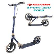 Городской самокат Tech Team Sport 250R 2020 Синий