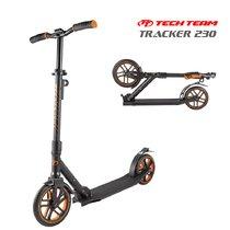 Двухколёсный самокат Tech Team Tracker 230 мм 2020 Чёрно-оранжевый