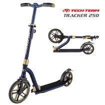 Двухколёсный самокат Tech Team Tracker 250 мм 2020 Сине-золотой