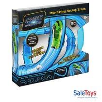 Трубопроводные гонки chariots speed pipes 24 деталей+1 машинка+светящийся мячик