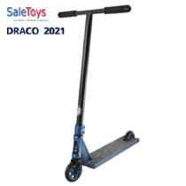 Трюковой самокат Tech Team DRACO 2021 Blue