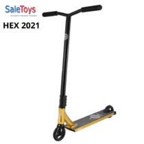 Трюковой самокат Tech Team HEX 2021 Gold