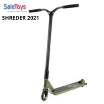 Трюковой самокат Tech Team SHREDER 2021 GREEN