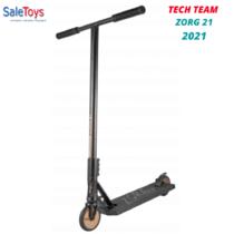 Трюковой самокат Tech Team Zorg 21 2021 Коричневый