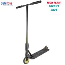 Трюковой самокат Tech Team Zorg 21 2021 Зеленый